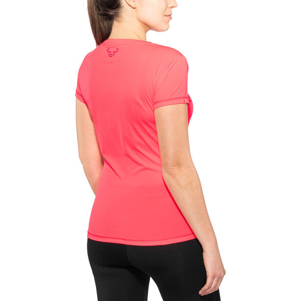 Dynafit Traverse SS Tee Dam fluo coral