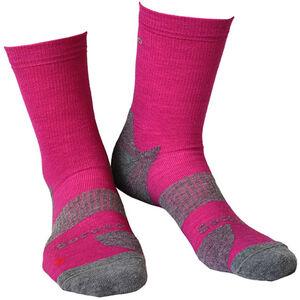 Gococo Technical Cushion High Wool Socks Fushia Fushia