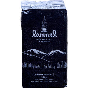 Lemmel Kaffe Lemmel Dark Roasted Cooked 450g