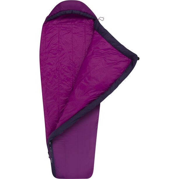 Sea to Summit Quest QuI Sleeping Bag Regular Dam grape/blackberry