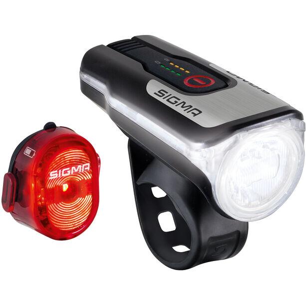 SIGMA SPORT Aura 80/Nugget II USB Light Set StVZO