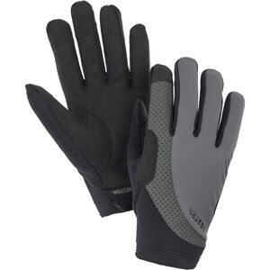 Hestra Apex Reflective Long Finger Gloves dark grey dark grey