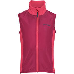 VAUDE Racoon Fleece Vest Barn bright pink bright pink