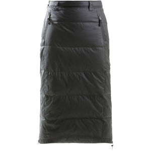 SKHoop Alaska Long Down Skirt Dam Black Black