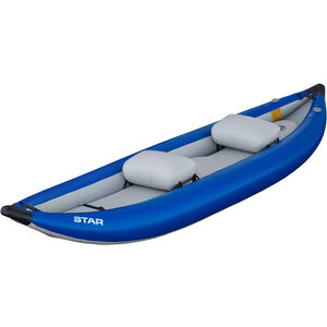 NRS Star Outlaw II Inflatable Kayak blue blue