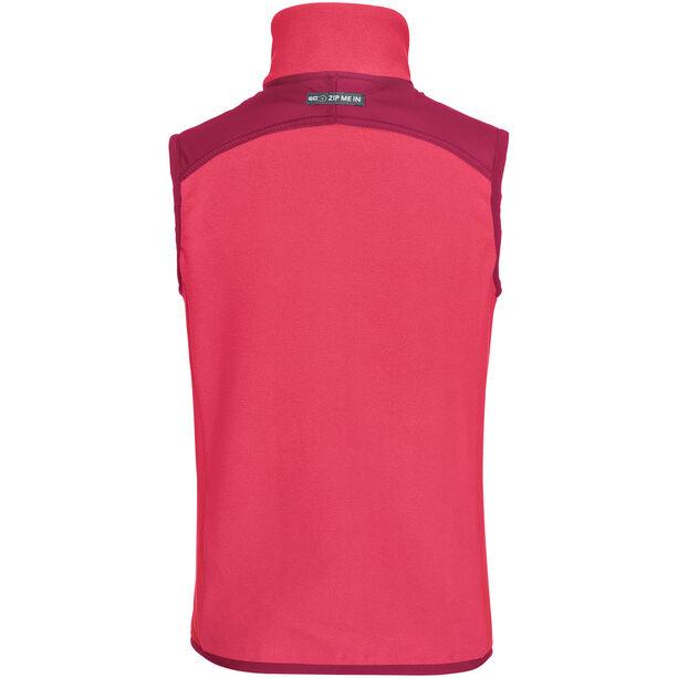 VAUDE Racoon Fleece Vest Barn bright pink