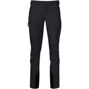 Bergans Breheimen Softshell Pants Dam black/solid charcoal black/solid charcoal