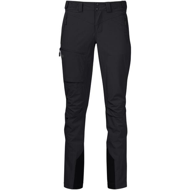 Bergans Breheimen Softshell Pants Dam black/solid charcoal