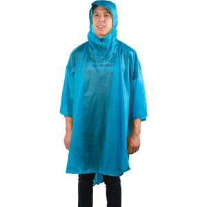 Sea to Summit 15D Poncho blue blue