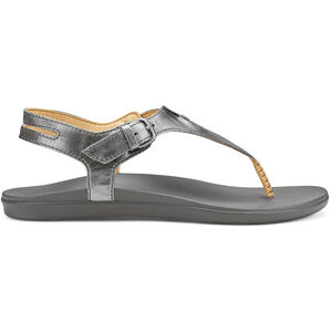 OluKai Eheu Sandals Dam pewter/charcoal pewter/charcoal