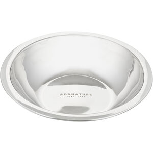 addnature Stainless Steel Bowl 18cm silver silver