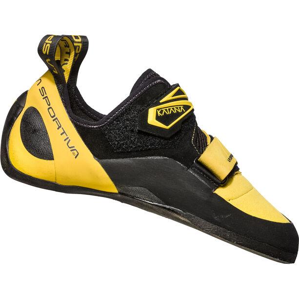 La Sportiva Katana Climbing Shoes Herr yellow/black