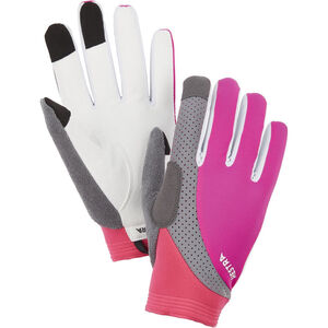 Hestra Apex Reflective Long Finger Gloves fuchsia fuchsia
