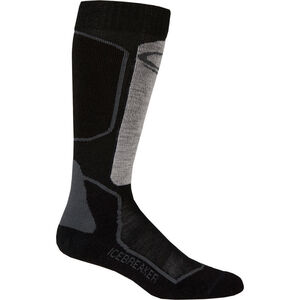 Icebreaker Ski+ Light OTC Socks Dam oil/black/silver oil/black/silver