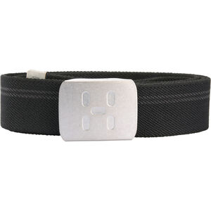Haglöfs Stretch Webbing Belt true black true black