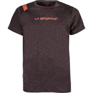 La Sportiva TX Top T-shirt Herr black/tangerine black/tangerine