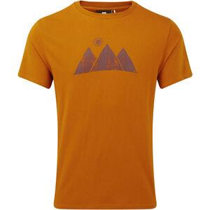 Mountain Equipment Mountain Sun Tee Herr pumpkin spice pumpkin spice