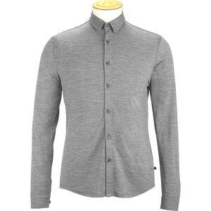 Alchemy Equipment 180GSM Single Jersey Merino Shirt Herr grey marle grey marle