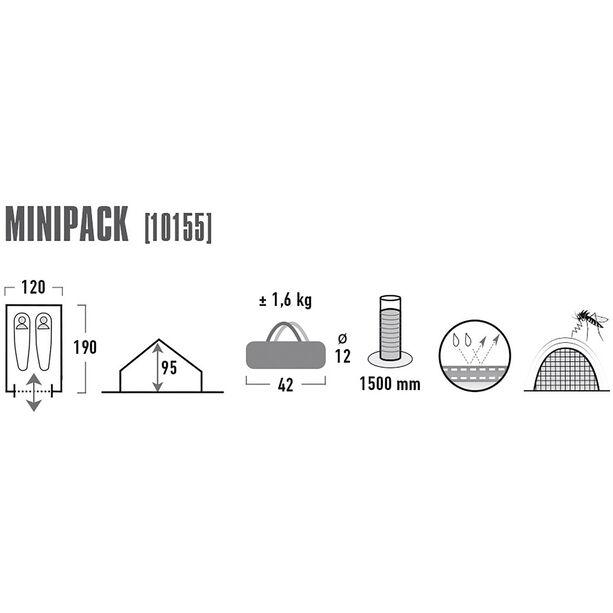High Peak Minipack Tent blue/grey