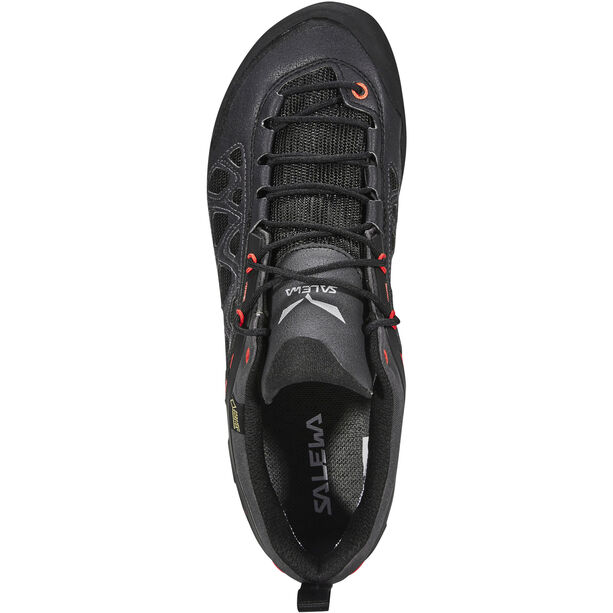 SALEWA Firetail 3 GTX Shoes Herr black out/papavero