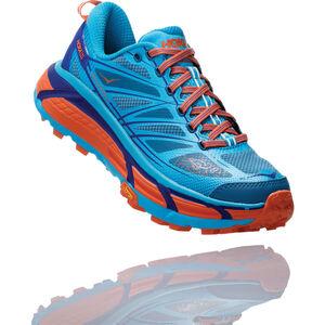 Hoka One One Mafate Speed 2 Running Shoes Dam scuba blue/storm blue scuba blue/storm blue