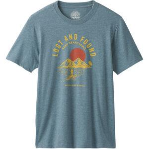 Prana Bradhaw T-Shirt Herr Blue Note Heather Blue Note Heather