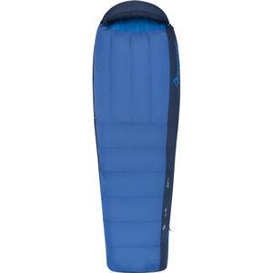 Sea to Summit Trek TkI Sleeping Bag Long Herr bright blue/denim bright blue/denim
