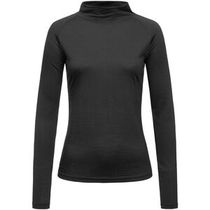 super.natural Base 175 Turtle Neck Dam jet black jet black