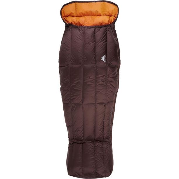 Mountain Equipment Spellbinder Sleeping Bag Dam dark chocolate/blaze
