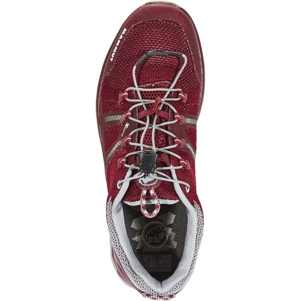 Mammut T Aegility Low GTX Shoes Dam merlot-neutral grey