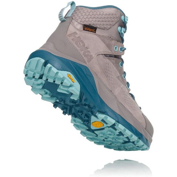 Hoka One One Sky Kaha Hiking Shoes Dam frost gray/aqua haze
