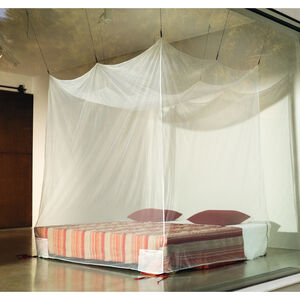 Cocoon Travel Mosquito Net Box-Double white white