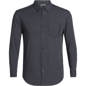 Icebreaker Steveston LS Flannel Shirt Herr Panther Panther