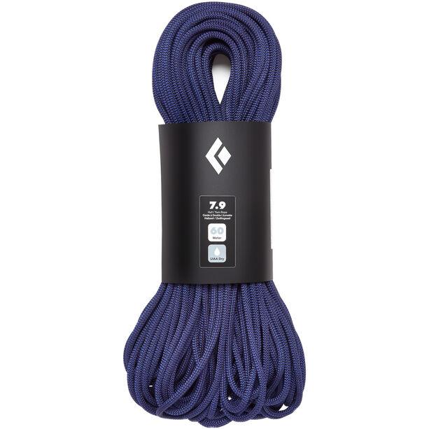 Black Diamond 7.9 Dry Rope 70m purple