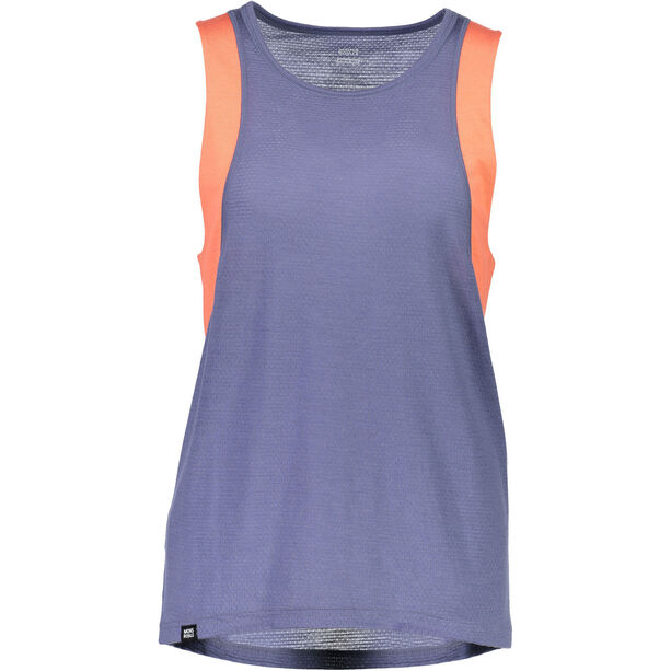 Mons Royale Kasey Relaxed Mesh Tank Dam coral/stone