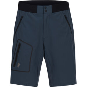Peak Performance Light Softshell Shorts Herr blue steel blue steel