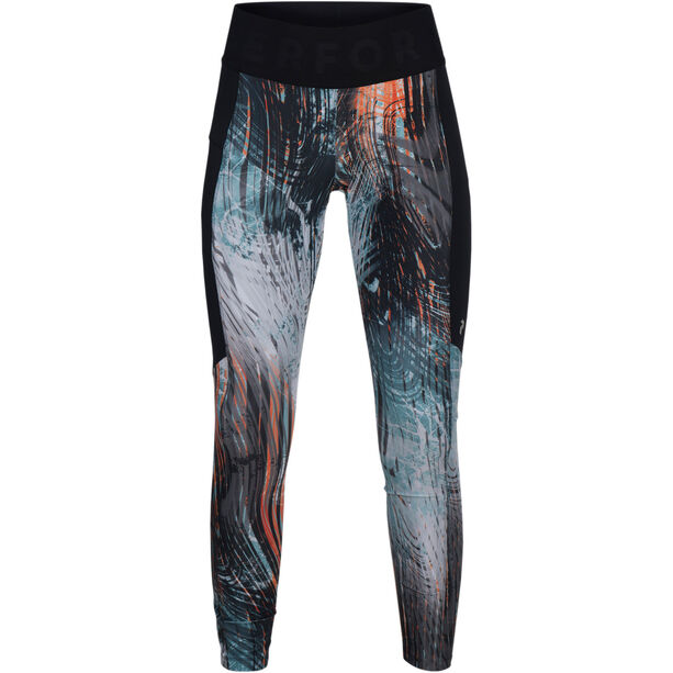 Peak Performance Revel Print Tights Dam pattern