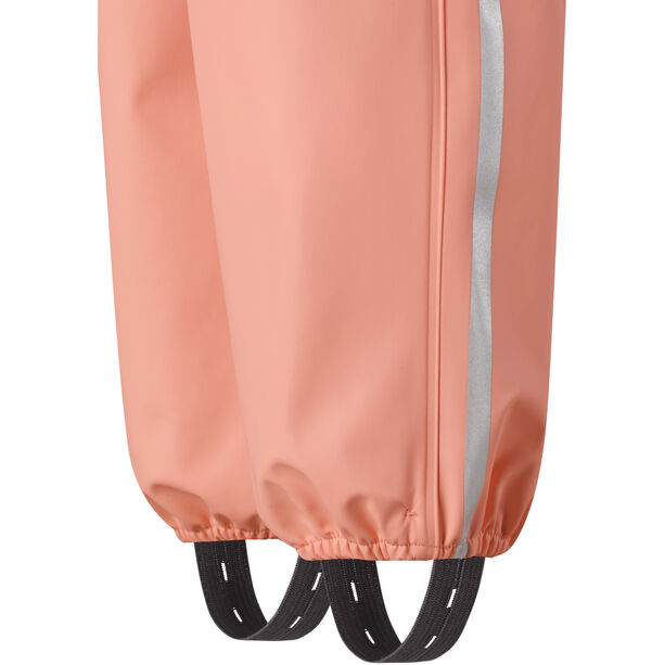 Reima Lammikko Rain Pants Barn coral pink