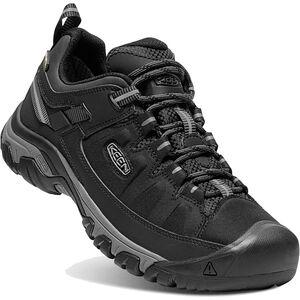 Keen Targhee Exp WP Shoes Herr black/steel grey black/steel grey