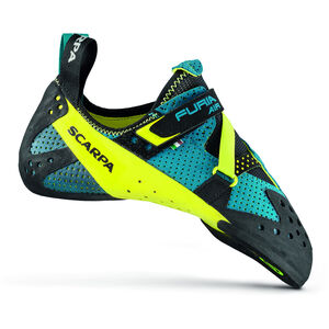 Scarpa Furia Air Climbing Shoes Baltic Blue-Yellow Baltic Blue-Yellow
