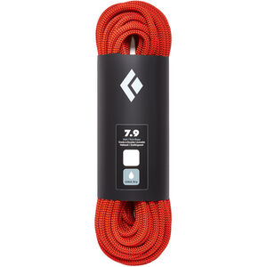 Black Diamond 7.9 Dry Rope 60m orange orange