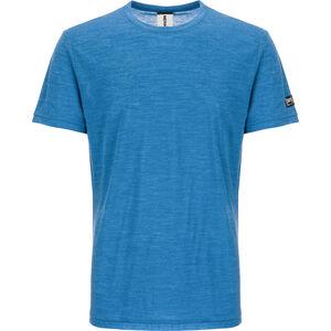 super.natural Everyday T-shirt Herr vallarta blue melange vallarta blue melange