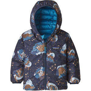 Patagonia Reversible Down Sweater Hoody Baby Barn Stories By Starlight/Neo Navy Stories By Starlight/Neo Navy