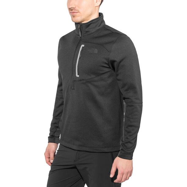 The North Face Canyonlands 1/2 Zip Shirt Herr tnf black