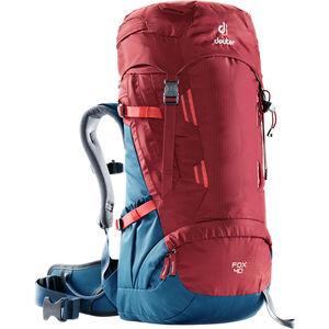 Deuter Fox 40 Backpack Barn cranberry-steel cranberry-steel