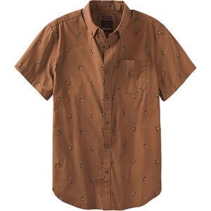 Prana Broderick Slim SS Shirt Herr tree bark tree bark