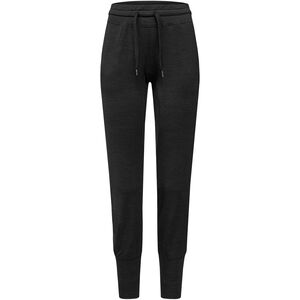 super.natural Essential Cuffed Pants Dam jet black melange jet black melange