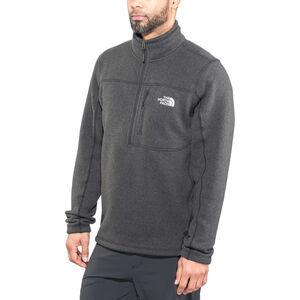 The North Face Gordon Lyons 1/4 Zip Jacket Herr tnf black heather tnf black heather