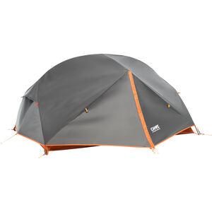 CAMPZ Lacanau 2P Tent grey/orange grey/orange