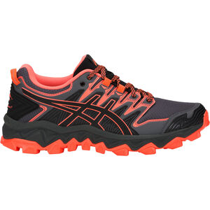 asics Gel-FujiTrabuco 7 Shoes Dam black/flash coral black/flash coral